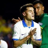 Brasil derrotó a Bolivia en su debut de Copa América