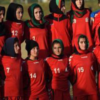 ¿Cómo se inició el fútbol femenino en Afganistán?